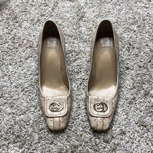 Gucci vintage women's  pumps
